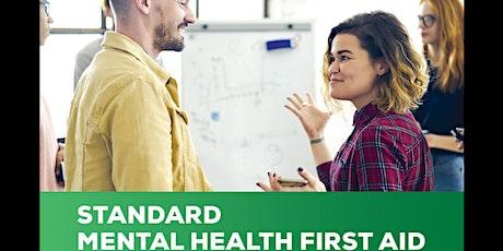 Mental Health First Aid -Standard tickets