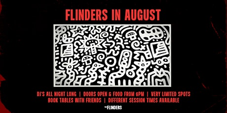 Sat 22nd Aug | The Flinders tickets