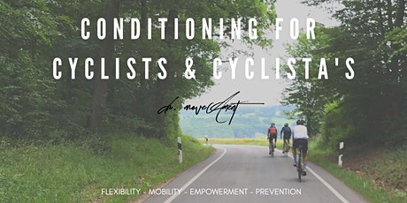 Monthly Special ~  Conditioning for cyclists & cyclista's tickets