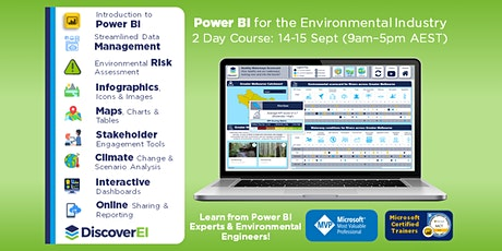 Power BI Training for the Environmental Industry - 2 Day Training Course tickets