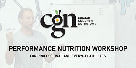 Nutrition Workshop with Conrad Goodhew (Performance Dietitian) tickets