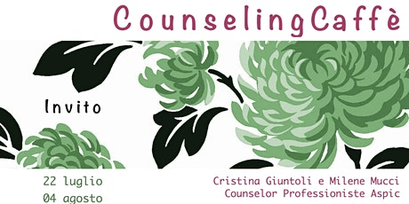 Counseling Caffè biglietti