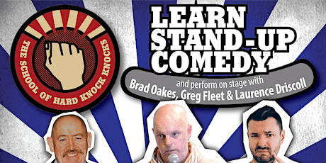 Learn stand-up comedy in Melbourne this September with Greg Fleet tickets