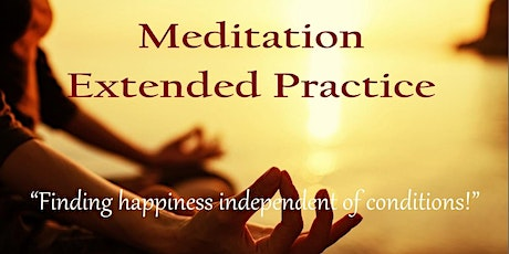 Determination Meditation: Finding Happiness Independent of Conditions tickets