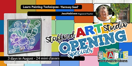 Stafford  Art Studio OPENING  SPECIAL - Mini Class - Easy Paint tickets