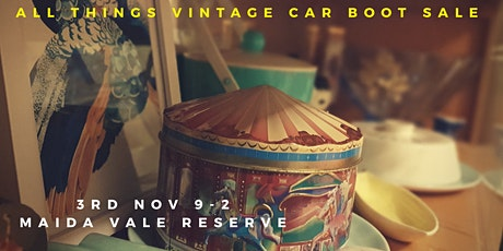 All Things Vintage Car Boot Sale 2020 tickets