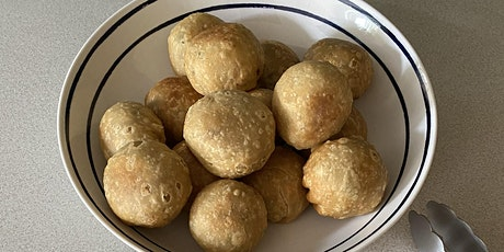 Kachoris  with peas and lentils ( Pastry stuffed with peas and lentils) tickets