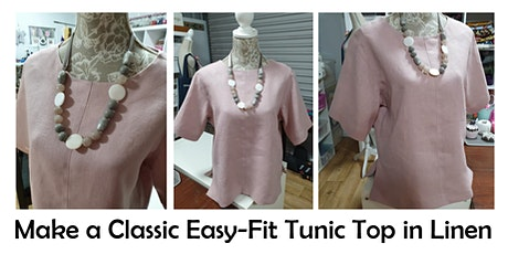 SEW A CLASSIC, EASY FIT TUNIC TOP tickets