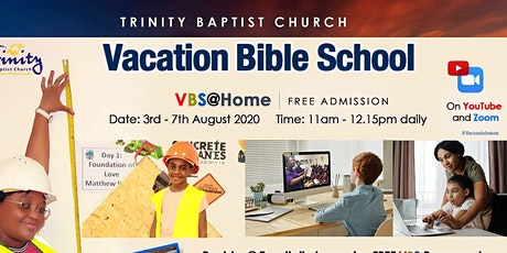 Trinity Baptist Church Vacation Bible School 2020 tickets