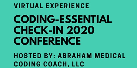 Coding-Essential Check-In Conference 2020 Tickets