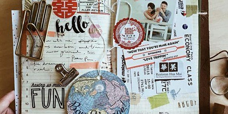 ART JOURNALING- Workshop auf der kreativ freiburg WINTERZAUBER Tickets