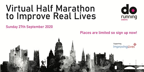 Virtual Half Marathon - Improving Real Lives (in Nottingham) tickets