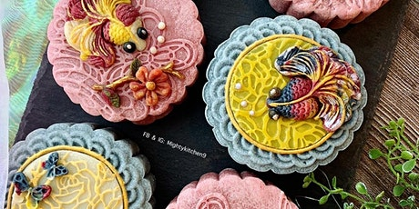 Deco Mooncakes with Natural Colors Workshop tickets