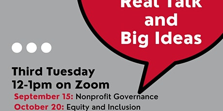 Nonprofit Equity and Inclusion: Real Talk and Big Ideas tickets