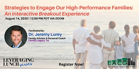 Strategies to Engage Our High-Performance Families tickets