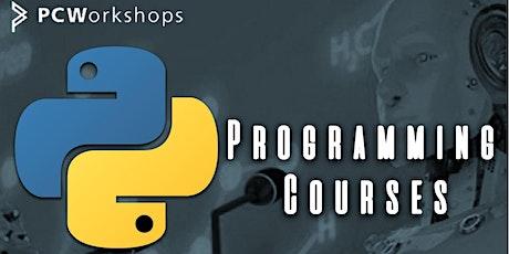 Python Programming 1-Day Cross-over Course, Webinar Virtual Classroom. tickets