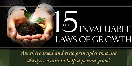 15 Laws of Growth- Saturday Morning 08:30am Group (Sept - Oct) tickets