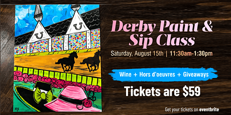 Derby Paint & Sip Class tickets