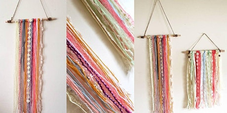 Boho beautiful wall hanging DIY- Outdoor class/all ages tickets