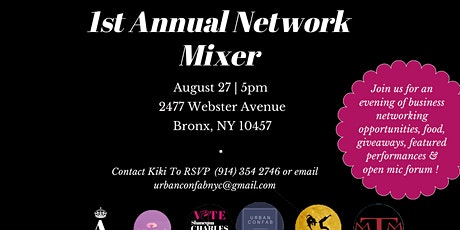 URBAN CONFAB & Friends Present: 1st Annual Network Mixer tickets