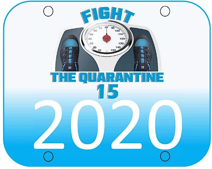 Fight the Quarantine 15 Virtual Run 2021 image