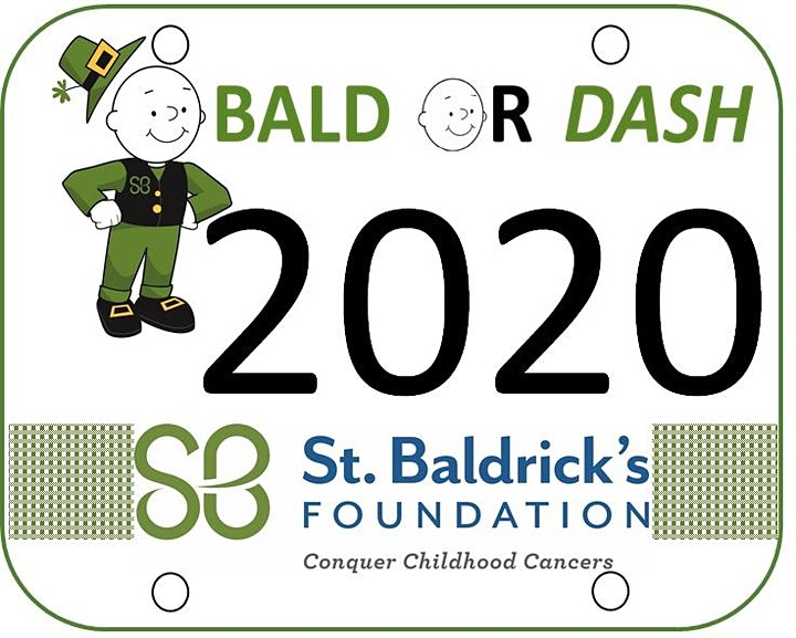 Bald Or Dash Virtual Run 2021 image