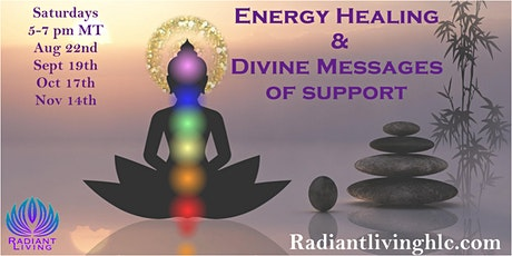 Energy Healing and Divine Messages of Support - Online/Remote tickets