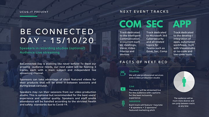Immagine Be Connected day -  5th November - 2020