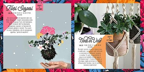 Fiori Sospesi & Nodi al Vento - FLOWERING biglietti