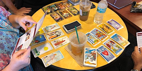 Cards and Conversation Tarot Meetup Live on YouTube tickets
