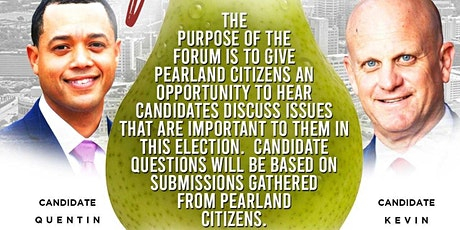 2020 Pearland Mayoral Candidate Forum tickets