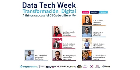 Data Tech Week 2020 entradas