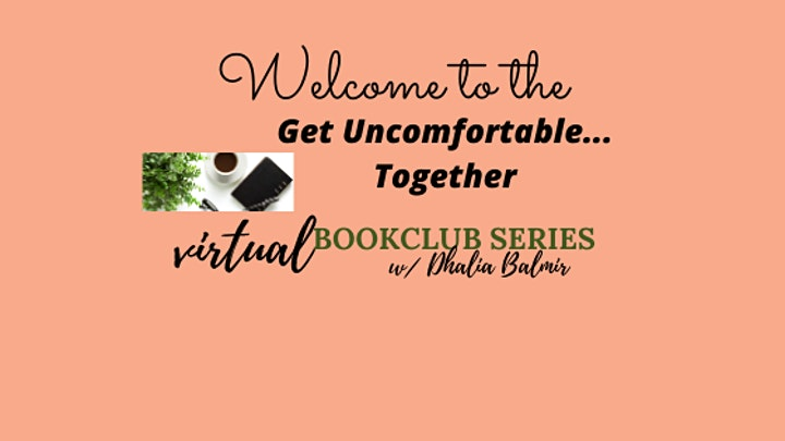 Let's talk about it:  RACE: a  Get Uncomfortable book discussion series image