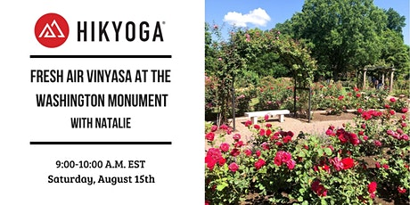 Rose Garden Fresh Air Vinyasa with Hikyoga® DC tickets