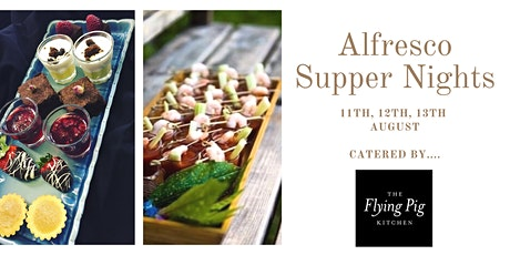 Alfresco Supper Night - 10 Course Dining tickets