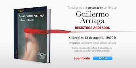 Presentación Premio Alfaguara 2020. Salvar el fuego entradas