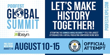 Podfest Global Summit tickets