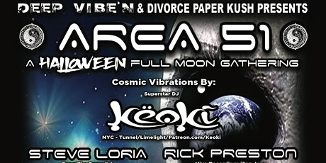 Area 51 -  A Full Moon Halloween Gathering tickets