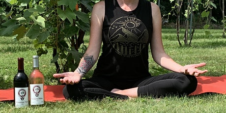 Yoga in the Vineyard billets