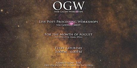 OGW: Live Post-Procesing Workshops tickets