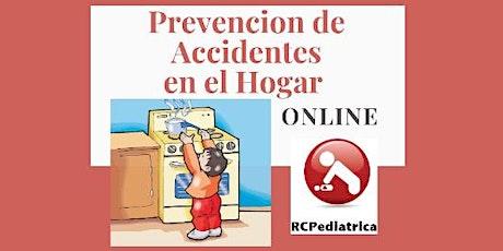 Prevención de Accidentes en el Hogar - dictado online por médicos pediatras boletos