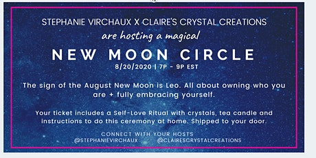 New Moon Circle includes self-love (at home) ritual tickets