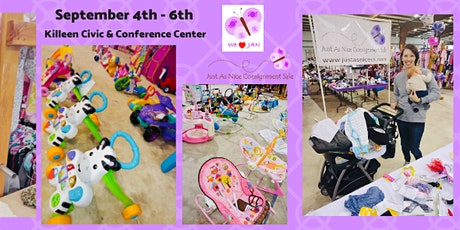 Kids Clothing & Toys Consignment Sale - Just As Nice tickets