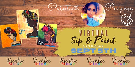 """Paint with Purpose""-ALL INCLUSIVE SIP & PAINT w/ Courtlandt Christianson tickets"
