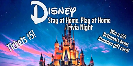 Disney Stay at Home, Play at Home Trivia Night! tickets