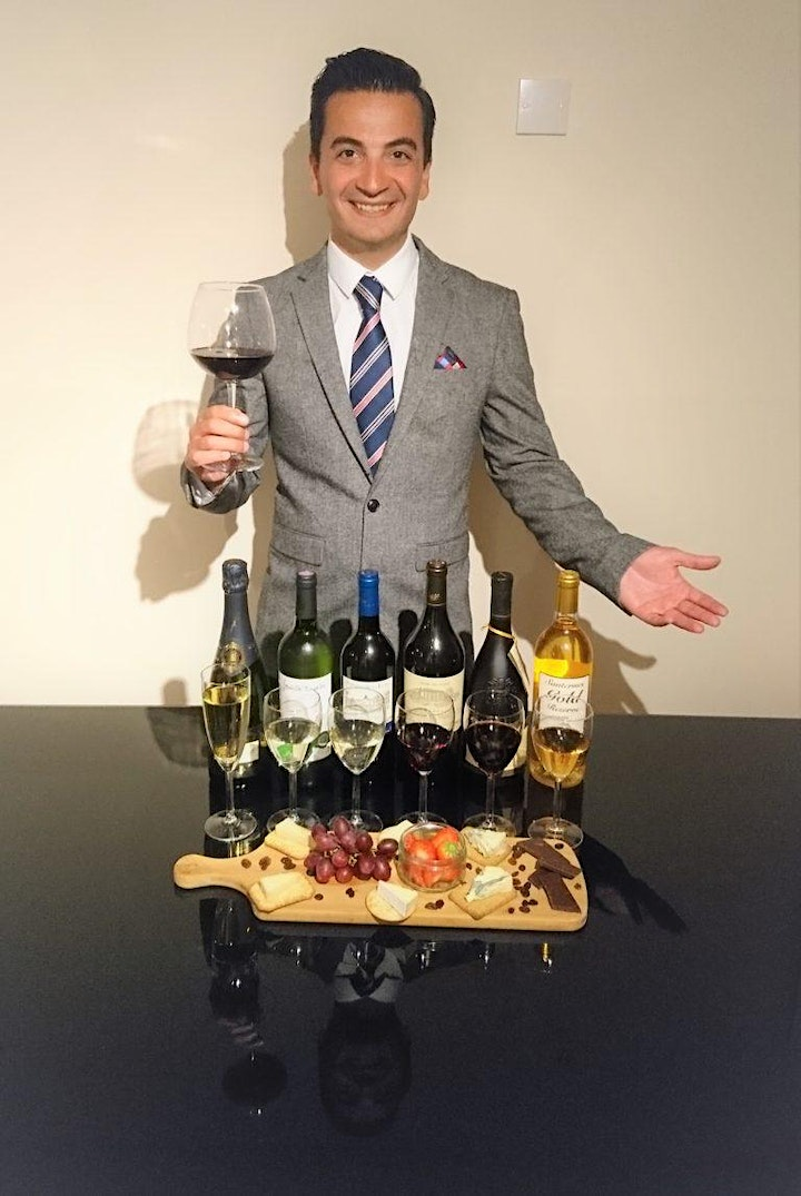 LUXURY WINE, CHAMPAGNE & PORT TASTING PAIRED WITH CHEESE & TRUFFLES image