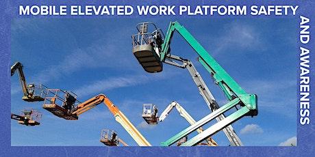 Elevated Work Platform Safety & Awareness - Refresher tickets