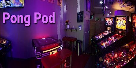 The Flipside's Pong Pod  Fri/Sat  7:20pm - 9:20pm tickets