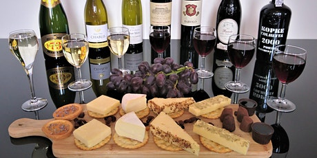 LUXURY WINE, CHAMPAGNE & PORT TASTING PAIRED WITH CHEESE & TRUFFLES tickets