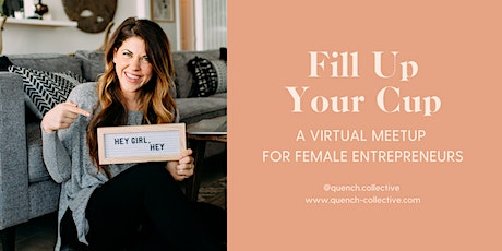 8/14 Fill Up Your Cup Virtual Meetup - The Power Of Influence tickets